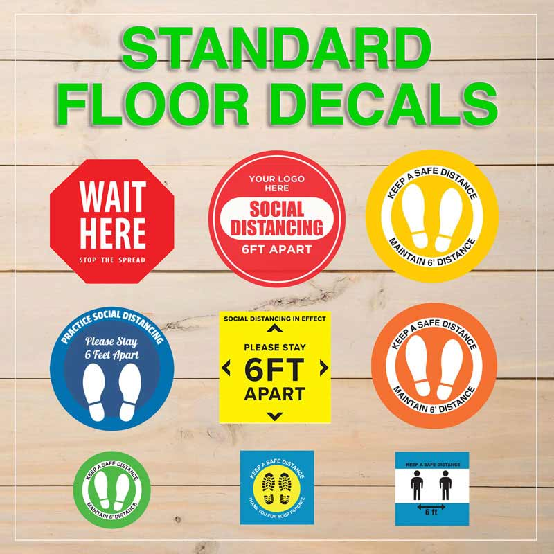 Standard Floor Decals