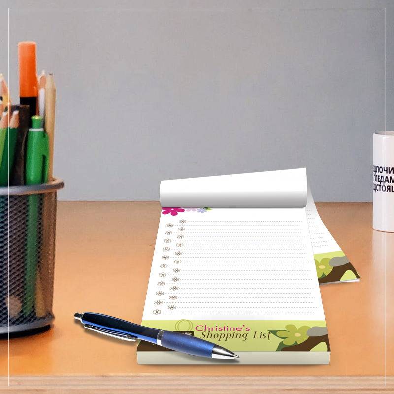 4 Color Notepads